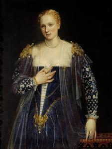 Portrait of Countess Nani by Paolo Veronese