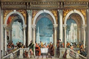Supper in the House of Levi, 1573 by Paolo Veronese