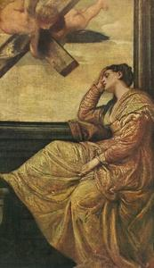 'The Dream of Saint Helena', 1570, (1909) by Paolo Veronese