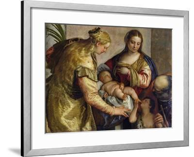 The Holy Family with St. Barbara, c.1550