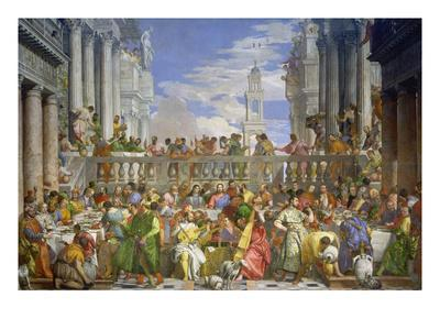 The Marriage Feast at Cana, about 1562/63
