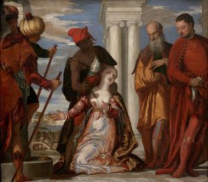 The Martyrdom of Saint Justine, 1570S by Paolo Veronese