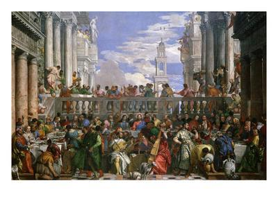 The Wedding at Cana, Painted 1562-63