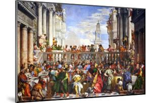 The Wedding at Cana (Post-Restoration) by Paolo Veronese