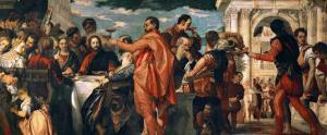 The Wedding at Cana (With Veronese's Self-Portrait) by Paolo Veronese