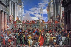 The Wedding Feast at Cana, 1563 by Paolo Veronese