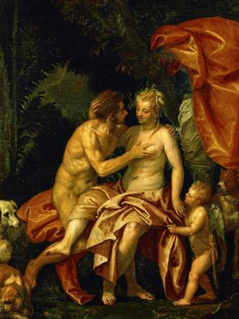 Venus and Adonis, circa 1580
