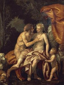 Venus and Adonis by Paolo Veronese