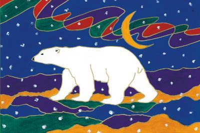 Papa Bear-Dawn Oman-Art Print