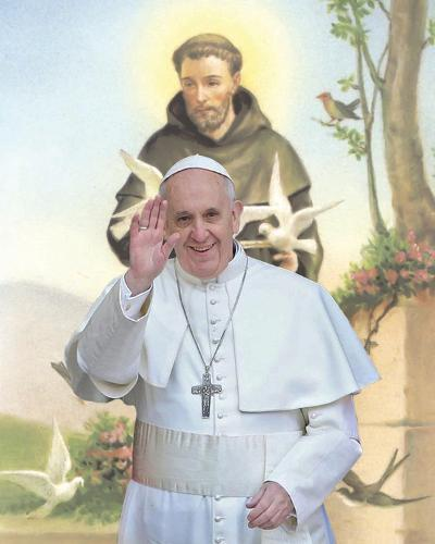 Papa Franciscus-Maurilio Boldrini-Art Print