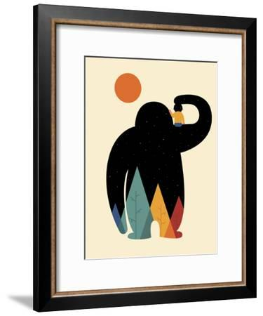 Papa-Andy Westface-Framed Giclee Print
