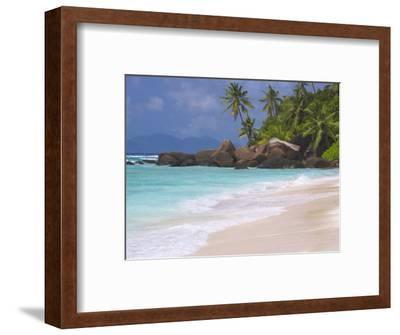Empty Beach, Seychelles, Indian Ocean, Africa