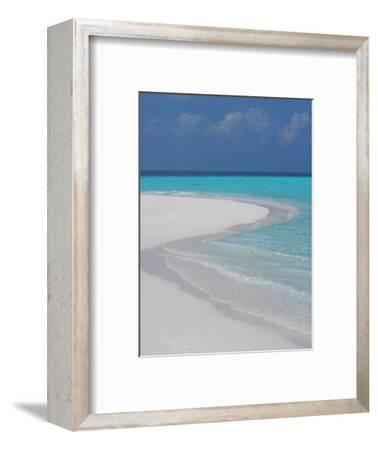 Empty Sandy Beach, Maldives, Indian Ocean