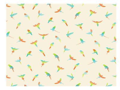 Papagei-Florent Bodart-Art Print