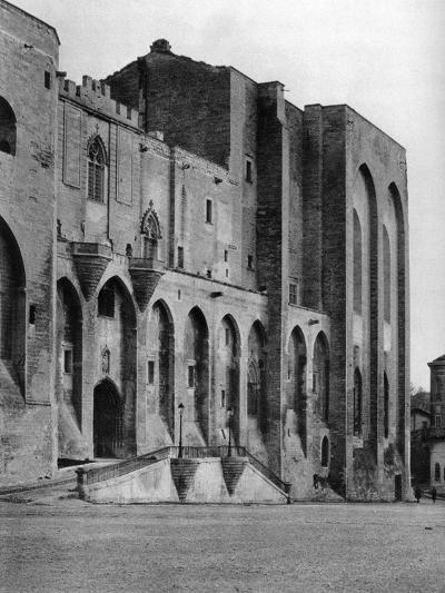 Papal Palace, Avignon, France, 1937-Martin Hurlimann-Giclee Print