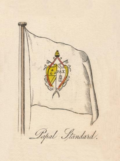 'Papal Standard', 1838-Unknown-Giclee Print