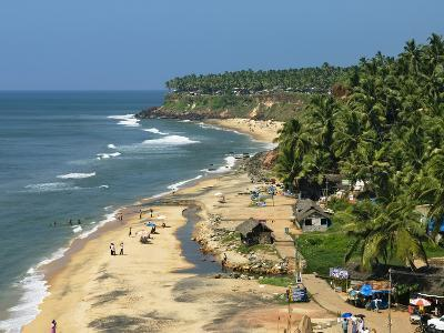 Papanasam Beach, Varkala, Kerala, India, Asia-Stuart Black-Photographic Print