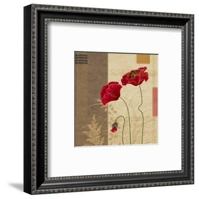 Papavar I-Linda Wood-Framed Art Print