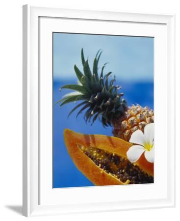 Papaya and Pineapple-Vladimir Shulevsky-Framed Photographic Print