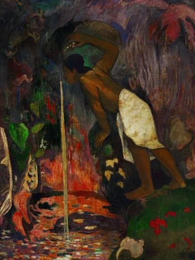 Pape Moe, 1893-Paul Gauguin-Giclee Print