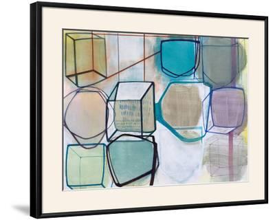 Paper Abstract 3-Naomi Taitz Duffy-Framed Art Print