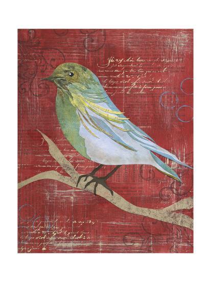 Paper Bird I-Jennifer DeDonato-Art Print