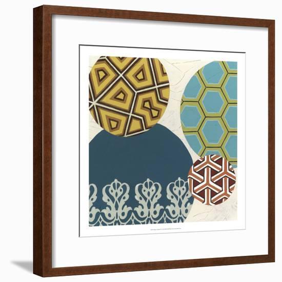 Paper Lanterns II-Erica J. Vess-Framed Art Print