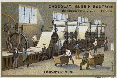 Paper Manufacturing--Giclee Print