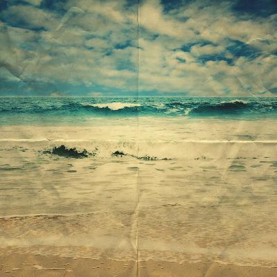 Paper Sea- Summer-Photographic Print
