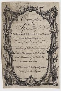 Paper Stainers, Crompton and Spinnage, Trade Card