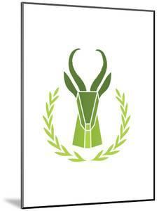 Paper Taxidermy Gazelle