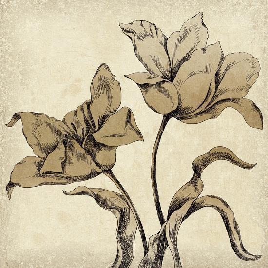 Paper Tulip I-Maria Mendez-Giclee Print