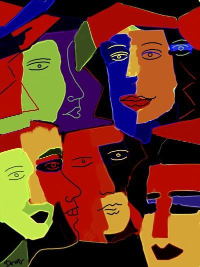 Paperheads-Diana Ong-Giclee Print