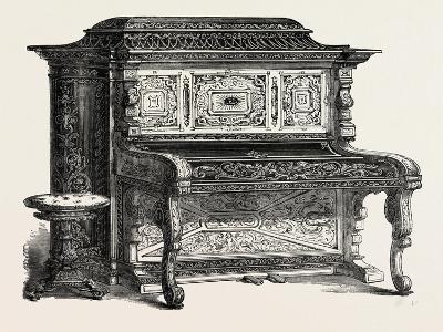 Papier Mache Pianoforte--Giclee Print