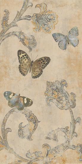 Papillion Decoratif II-Deborah Devellier-Art Print