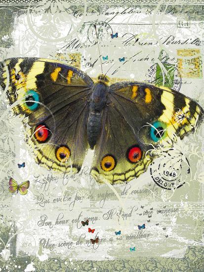 Papillon II-Ken Hurd-Giclee Print