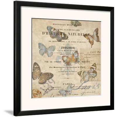 Papillon II-Deborah Devellier-Framed Art Print