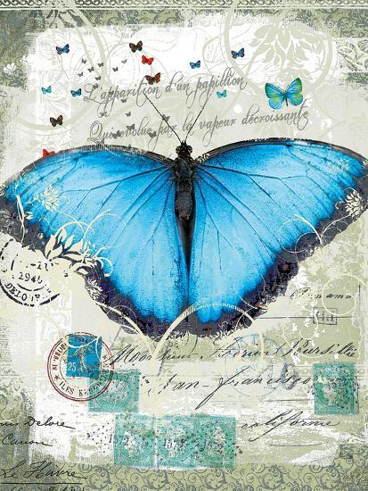 Papillon III-Ken Hurd-Giclee Print