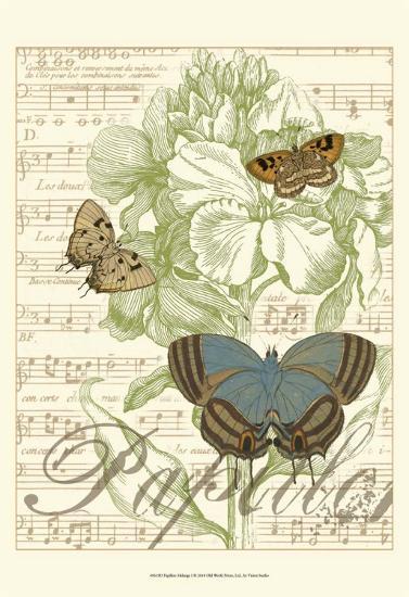 Papillon Melange I--Art Print