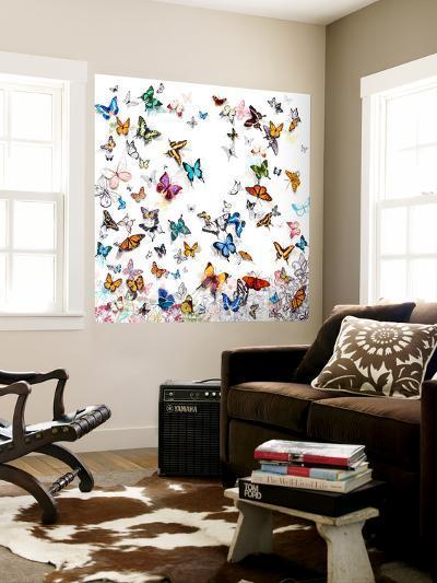 Papillon-Allyson Fukushima-Wall Mural