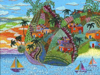 Papillon-Debra Denise Purcell-Giclee Print