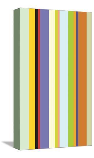 Paprika Stripe-Dan Bleier-Stretched Canvas Print
