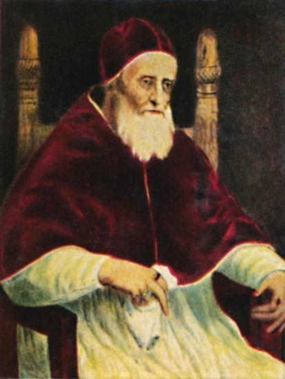 'Papst Julus II. 1443-1513', 1934-Unknown-Giclee Print