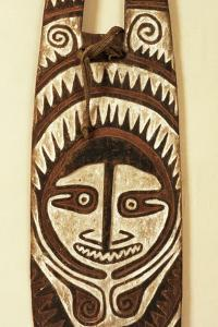 Carved Ancestor Board, Papua New Guinea, Mid 20th Century by Papua New Guinean
