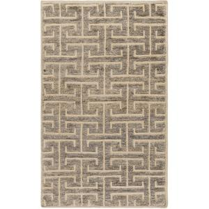Papyrus Area Rug - Soft Gray/Light Mocha 5' x 8'