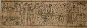 Papyrus mythologique de Neskapashouty, scribe comptable des grains du grenier d'Amon