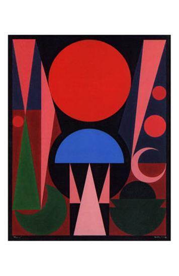 Paques, c.1949-Auguste Herbin-Art Print