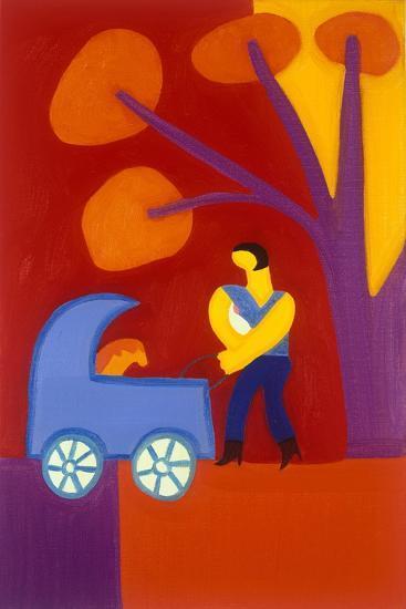 Para Isabel-Cristina Rodriguez-Giclee Print