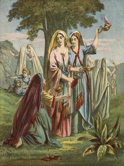 Parable of the Ten Virgins--Giclee Print