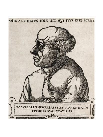 Paracelsus, Swiss Alchemist-Middle Temple Library-Giclee Print